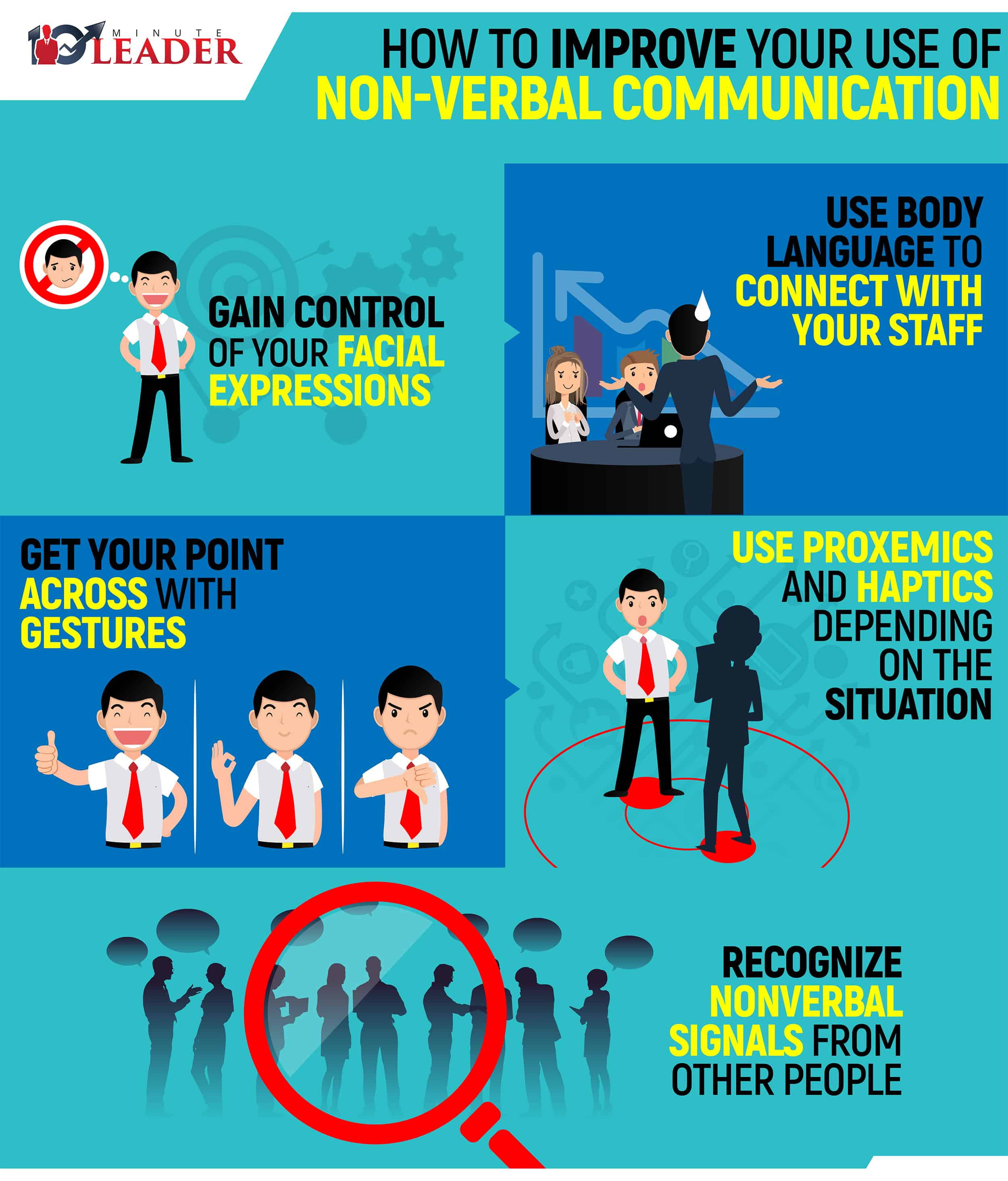 How to Improve your Use of non Verbal Communication